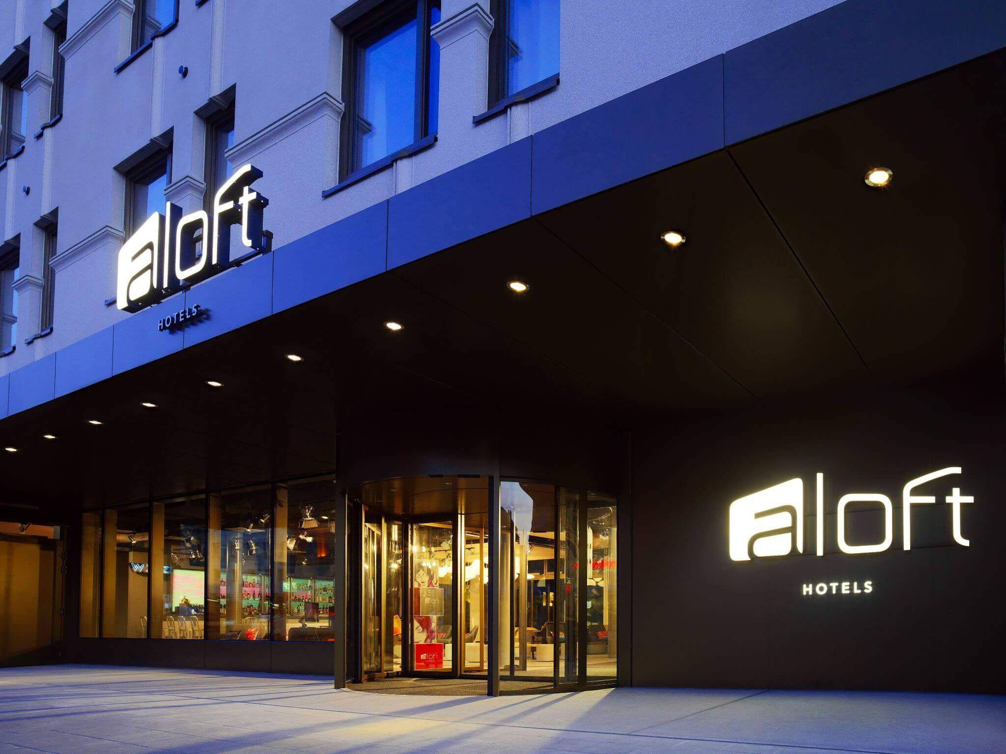 Aloft Munich City Hotel opposite Munich central station